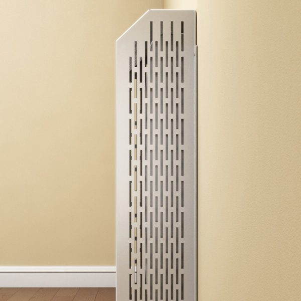 Side view of Rointe protective radiator covers