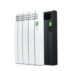 Rointe D Series electric WiFi 330 watt radiator in white and graphite with 3 heating elements