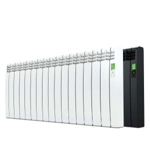 Rointe D Series electric WiFi 1600 watt radiator in white and graphite with 15 heating elements