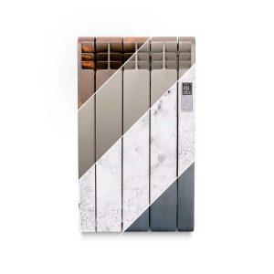 Rointe D Series designer 330 watt electric radiator in multiple finishes