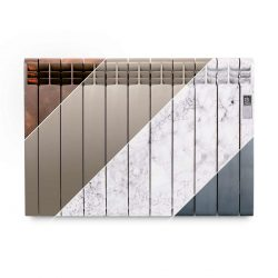 Rointe D Series designer 990 watt electric radiator in multiple finishes
