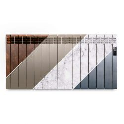 Rointe D Series designer 1430 watt electric radiator in multiple finishes