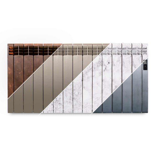 Rointe D Series designer 1430 watt electric radiator in multiple finishes