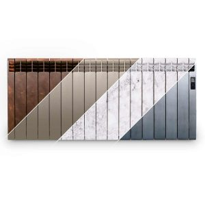 Rointe D Series designer 1600 watt electric radiator in multiple finishes