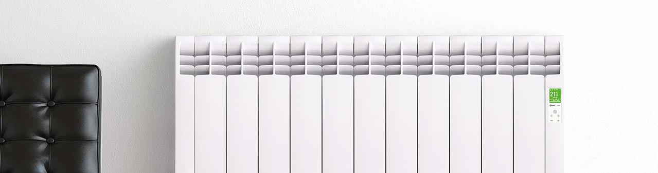 Rointe D Series electric radiator close up