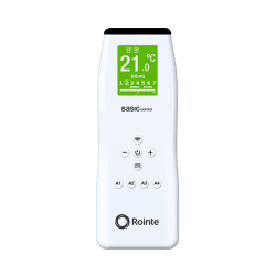 Rointe infrared BASIC remote control in white