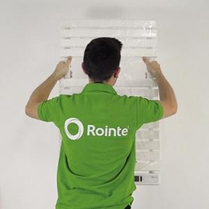 Step 6: wall mounting a Rointe towel rail