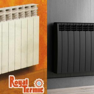 Difference between the old Rointe Royal Termic radiator and new D Series radiator