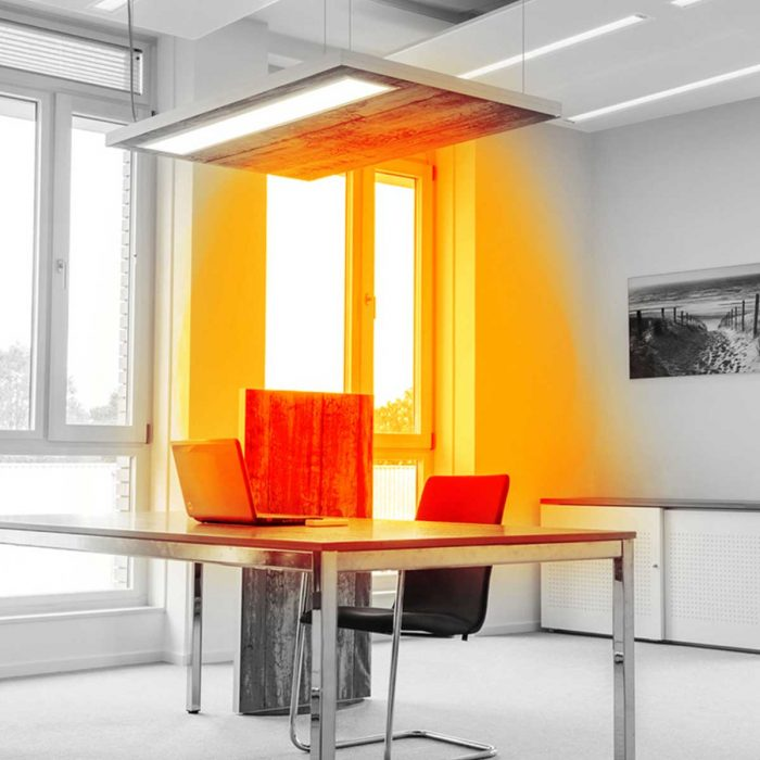 Radiant infrared panel heater