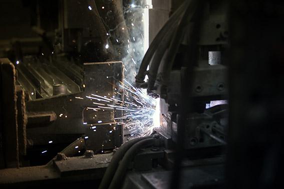 Step 10 - aluminium module manufacturing phase 3