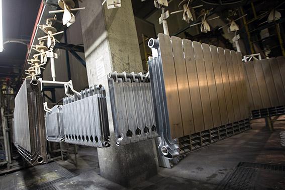Step 12 - preparation of aluminium radiator for painting phase 1