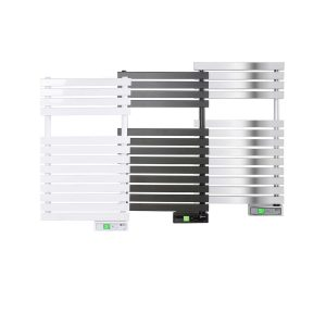 D Series WiFi 300 watt white, graphite and chrome electric towel rails