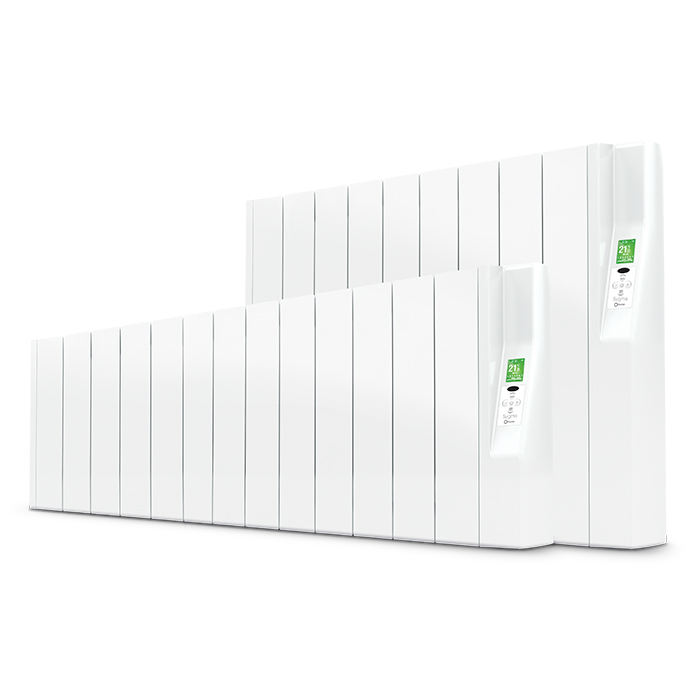 Rointe Sygma electric radiators in two heights