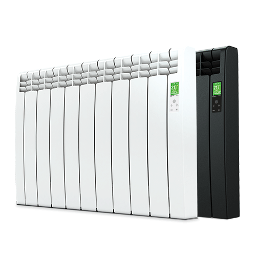 D Series WiFi electric white and black radiator
